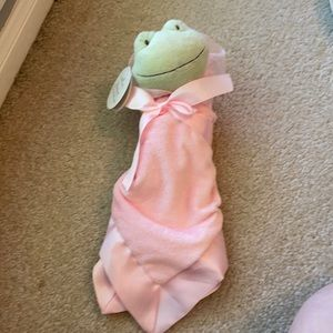 Hallmark frog baby blanket